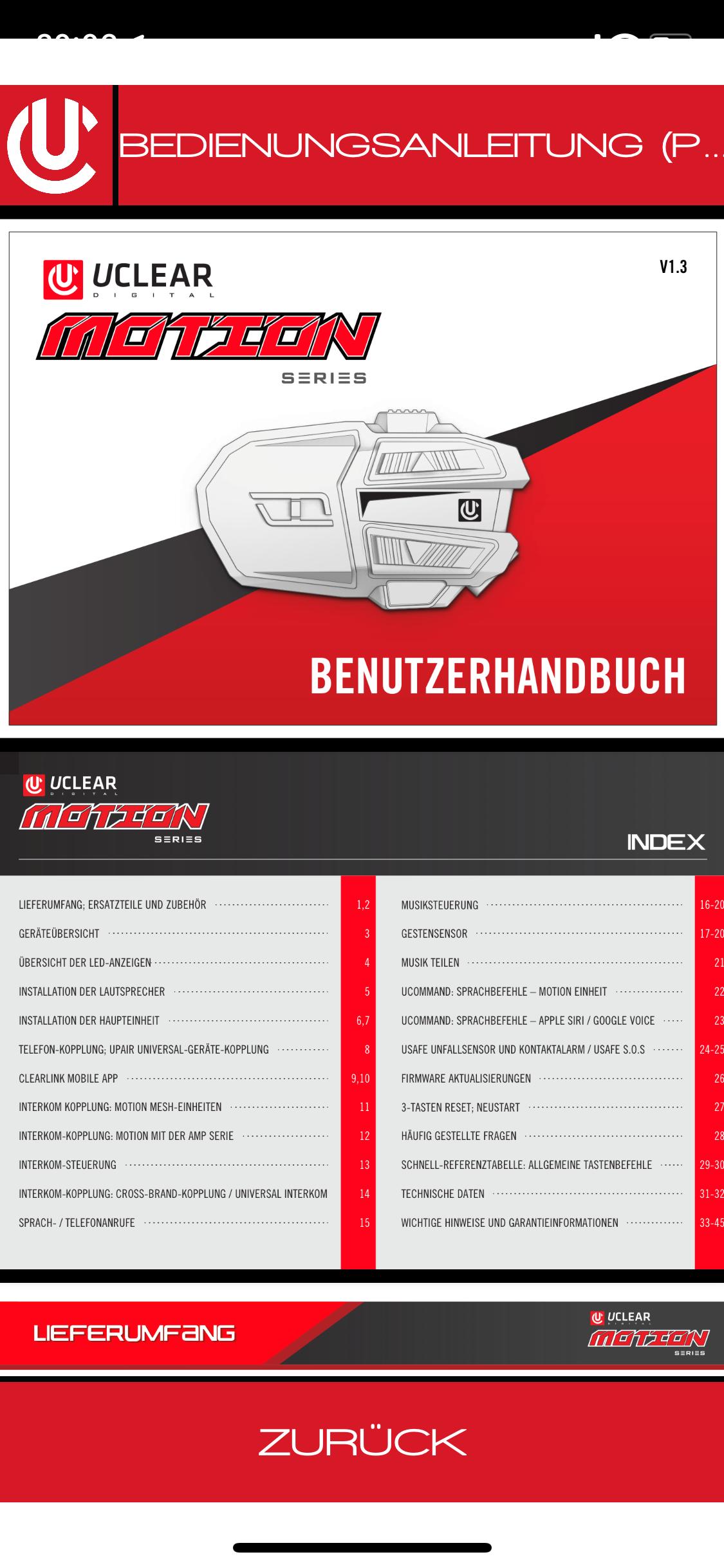 CLEARLink-Handbuch-Deutsch