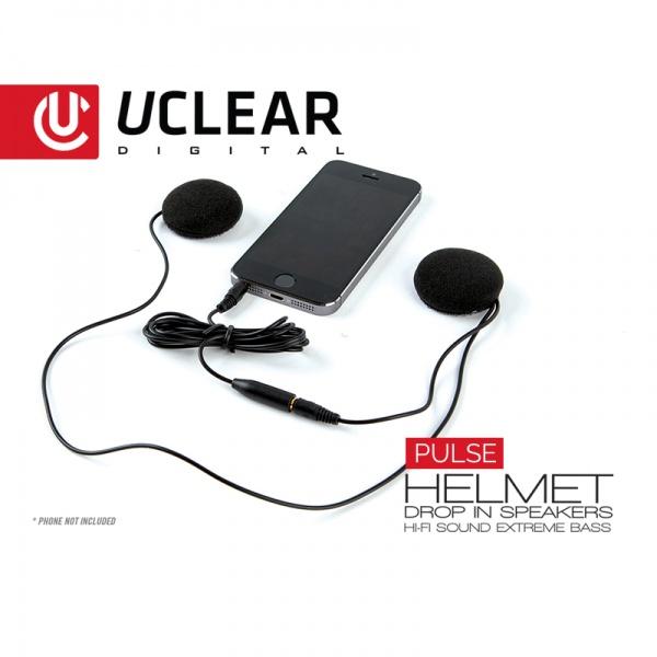 PULSE Kabel Stereo Helmlautsprecher der Spitzenklasse!