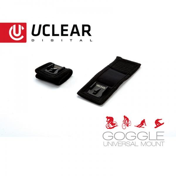 GOGGLE UNIVERSAL MOUNT Headset Halterung für Ski- und Crossbrillen