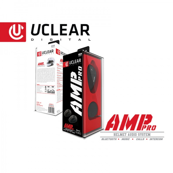 AMP Pro Bluetooth Helm Audio System – Dual Kit