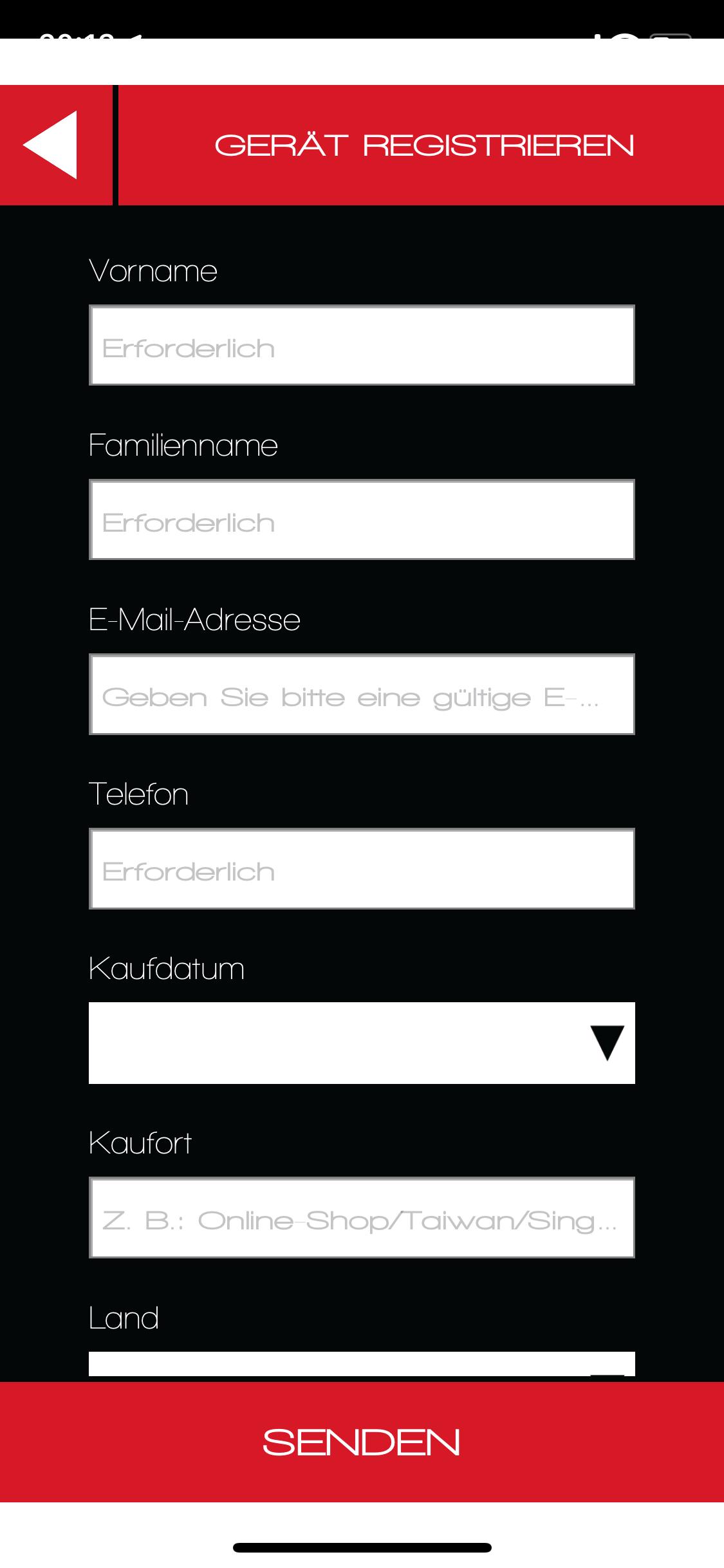 CLEARLink-Registrierung-Deutsch