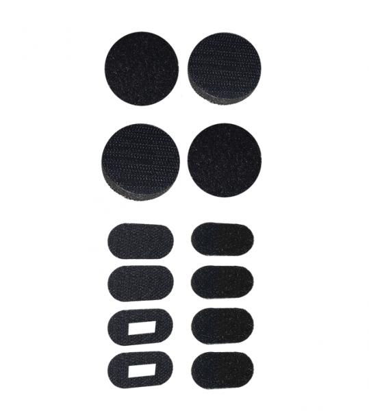 Universal Helm Lautsprecher / Mikrofon Montagepads