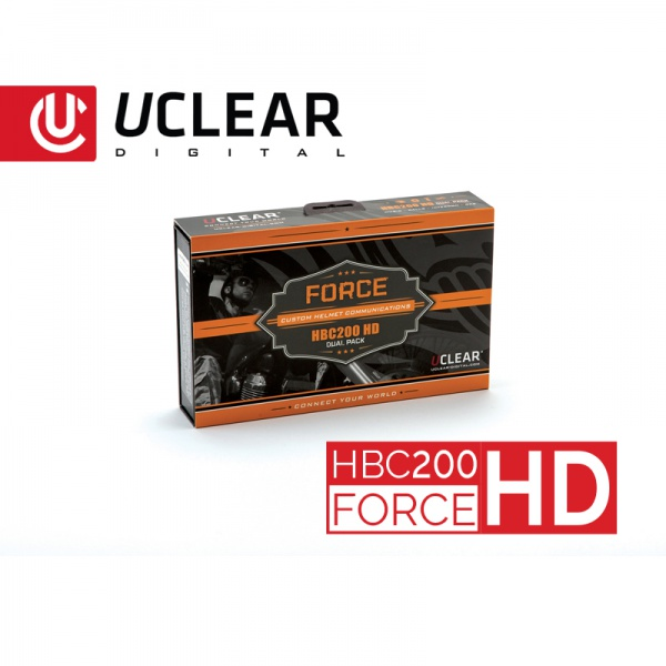 HBC200 HD Force Bluetooth Helm-Audiosystem - Doppel-Set