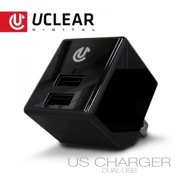 US Universal Dual Port Netzteil AC / USB Ladeadapter (2.1A & 1A)