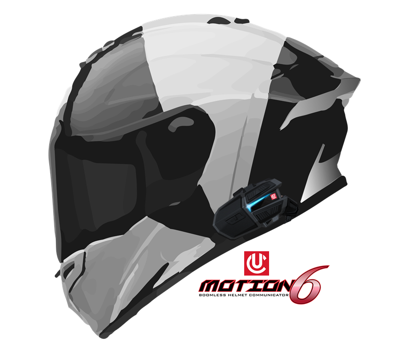 Motion-6-Single-am-Helm-montiert
