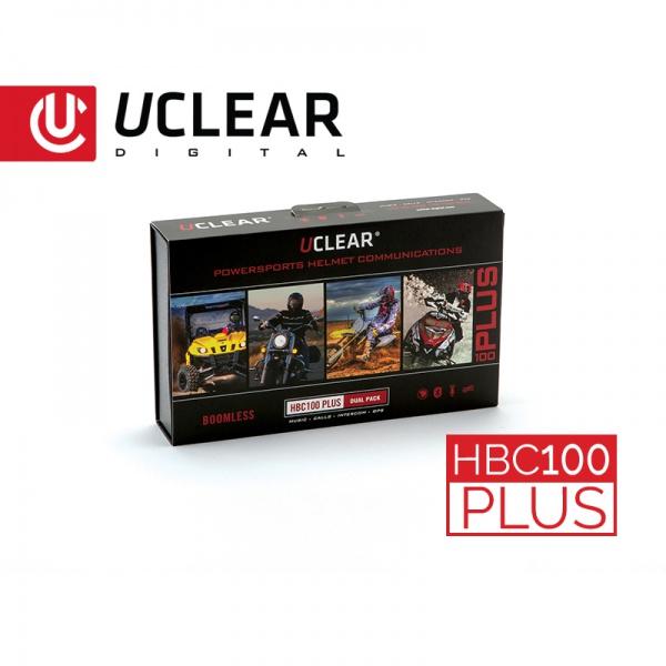 HBC100 Plus - Bluetooth Helm-Audiosystem - Doppel-Set