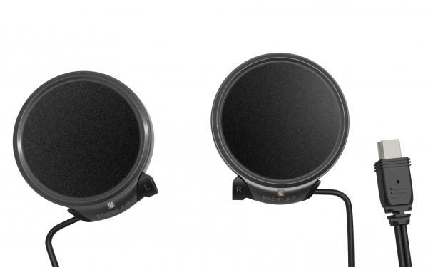 BOOST 2.0 Lautsprecher mit integrierten Mikrofonen für HBC & AMP Serie Headsets